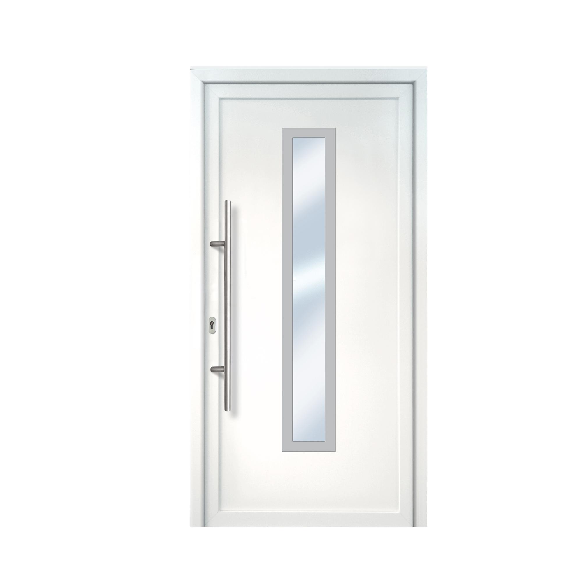Weiße Haustür weiße haustür nach maß aus kunststoff kp holzshop de