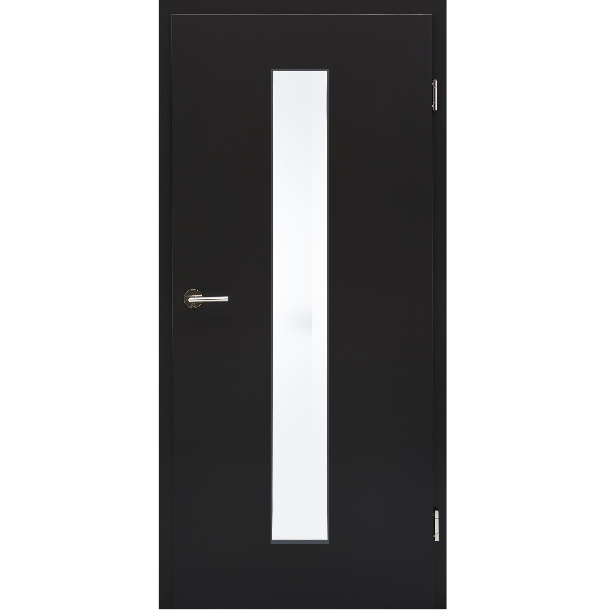 buy popular 3b9ee 146ff Zimmertür mit Zarge CPL Orca Lichtausschnitt schmal mittig ...