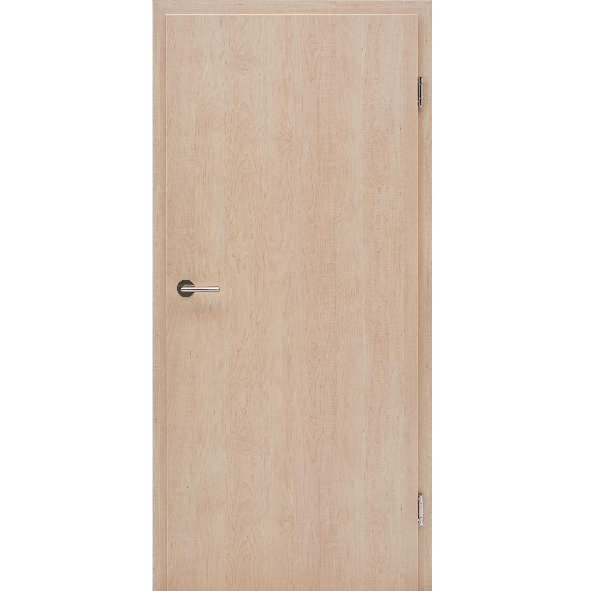 wohnungst r mit zarge cpl nova ahorn vollspan kkl ii 27db. Black Bedroom Furniture Sets. Home Design Ideas
