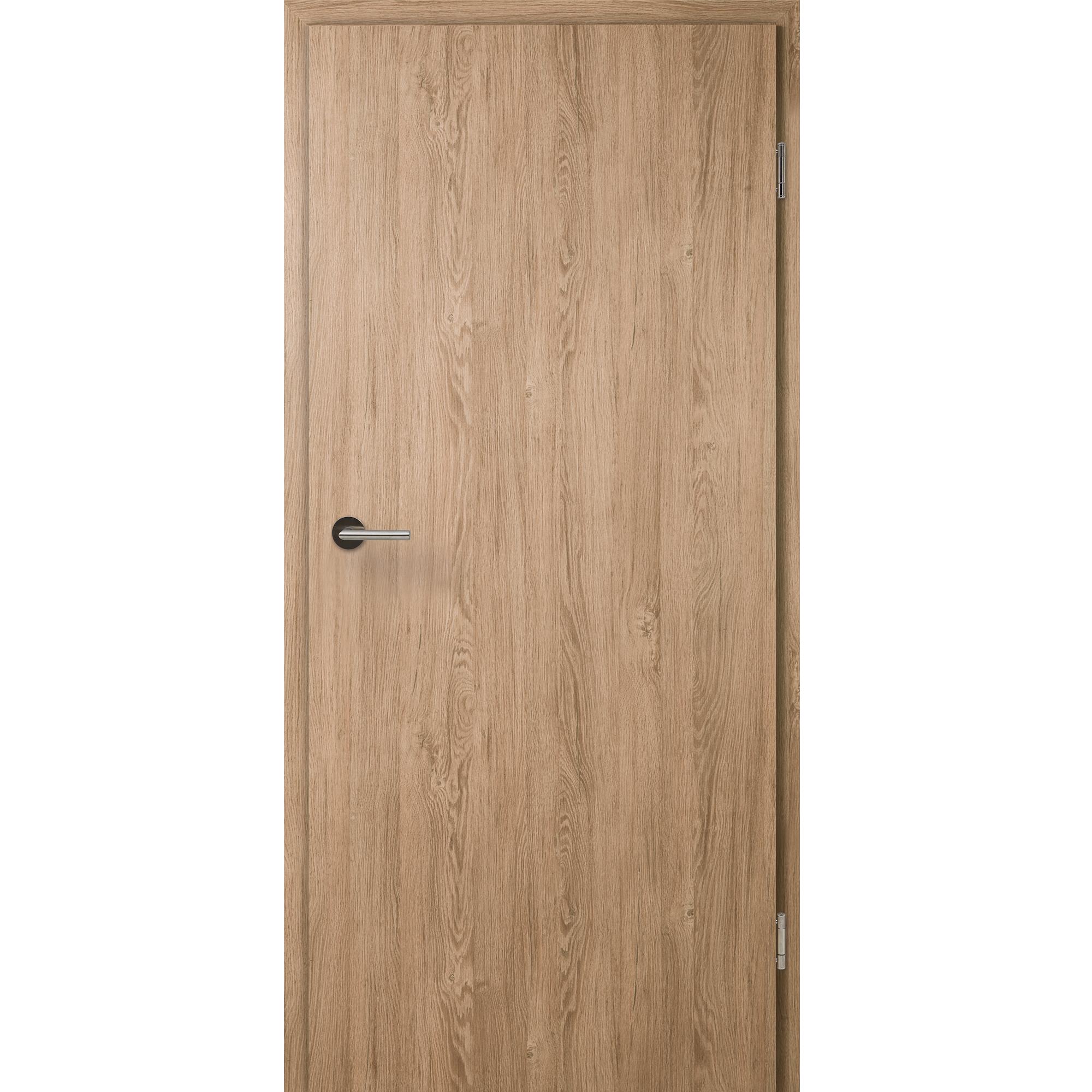 wohnungst r mit zarge cpl raucheiche vollspan kkl iii 27db. Black Bedroom Furniture Sets. Home Design Ideas