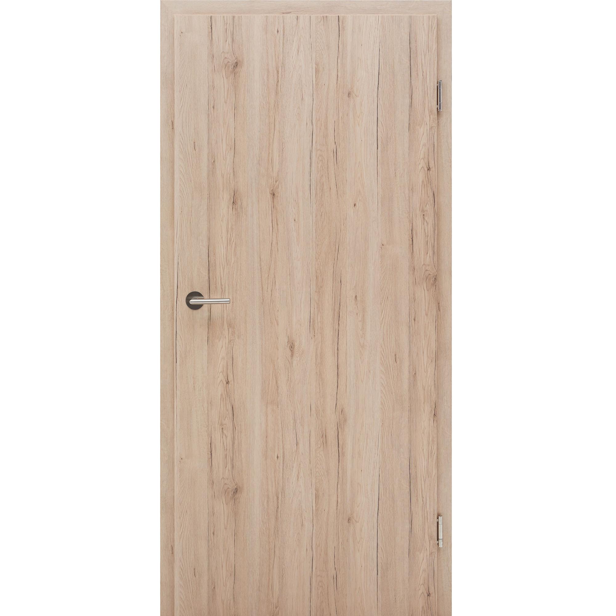 wohnungst r mit zarge cpl eiche barrique vollspan 27db kkl. Black Bedroom Furniture Sets. Home Design Ideas