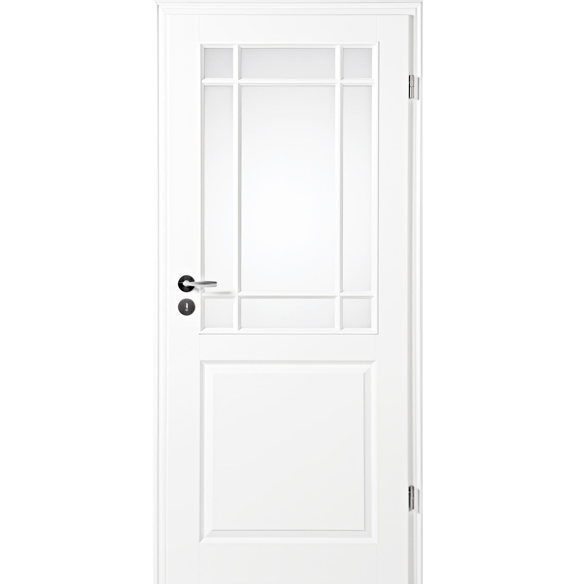 zimmert r mit zarge narva 3f la 9fg wei lack lichtausschnitt rundkante kp holz shop. Black Bedroom Furniture Sets. Home Design Ideas