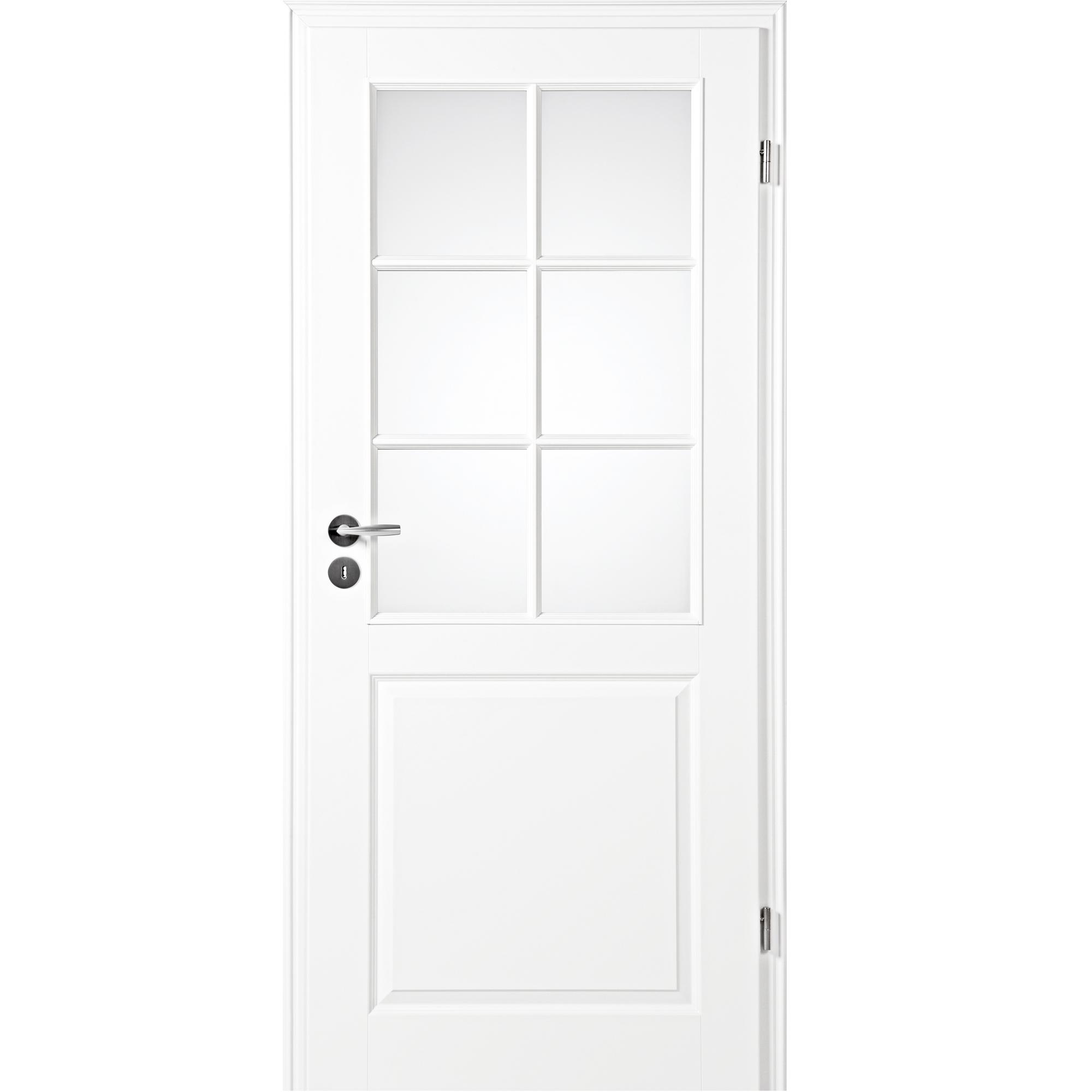 zimmert r mit zarge narva 3f la 6g wei lack lichtausschnitt rundkante kp holz shop haust ren. Black Bedroom Furniture Sets. Home Design Ideas