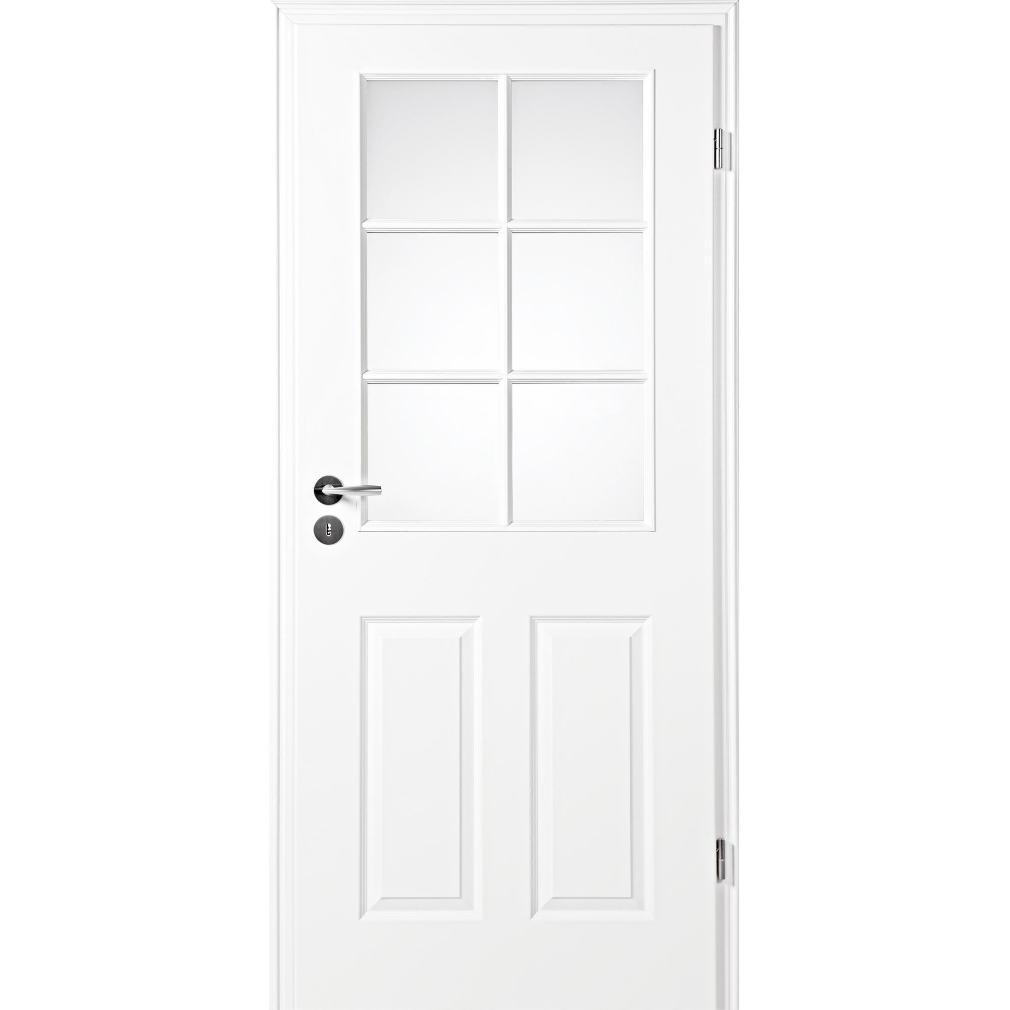 zimmert r mit zarge narva 4f la 6g wei lack lichtausschnitt eckkante kp holz shop haust ren. Black Bedroom Furniture Sets. Home Design Ideas