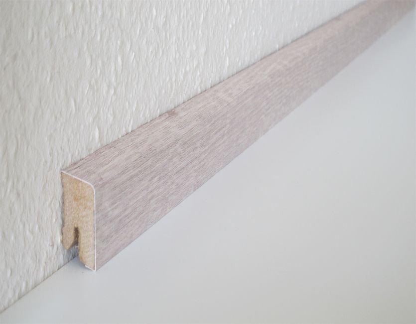 Holz Sockelleiste Weiß ziro sockelleiste esche weiß für vinylan plus kp holz shop