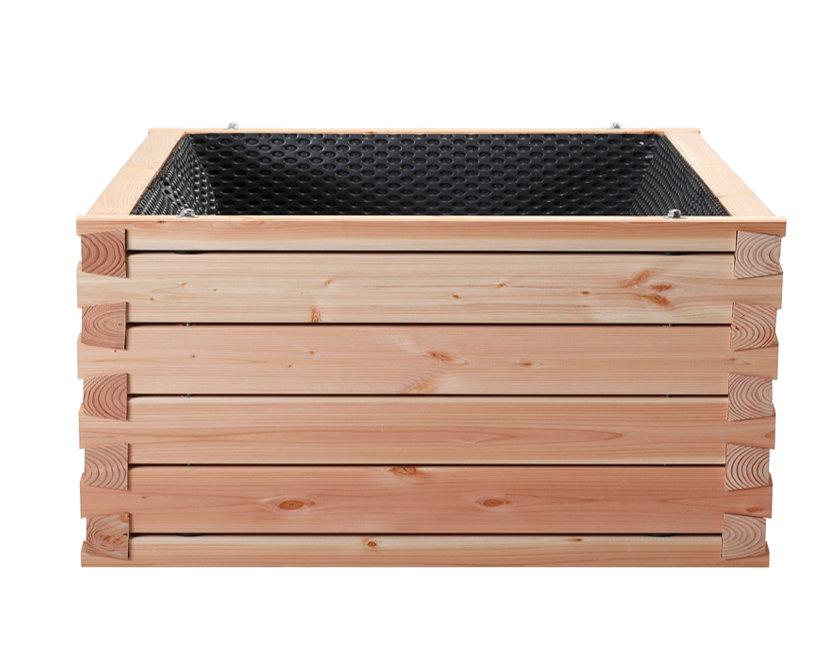 terrasso holz hochbeet deutsche douglasie kp. Black Bedroom Furniture Sets. Home Design Ideas