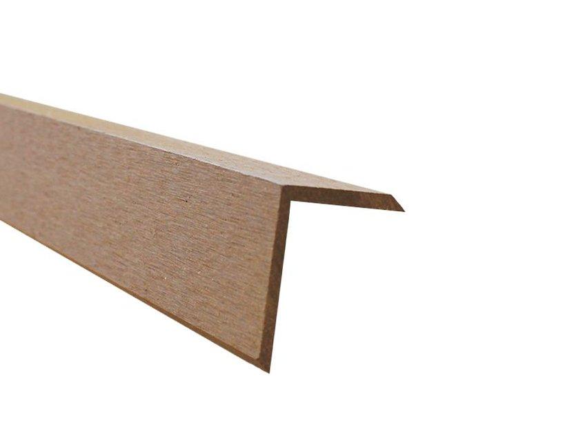 anfangs abschlussprofil f r wpc terrassendielen k p holz. Black Bedroom Furniture Sets. Home Design Ideas