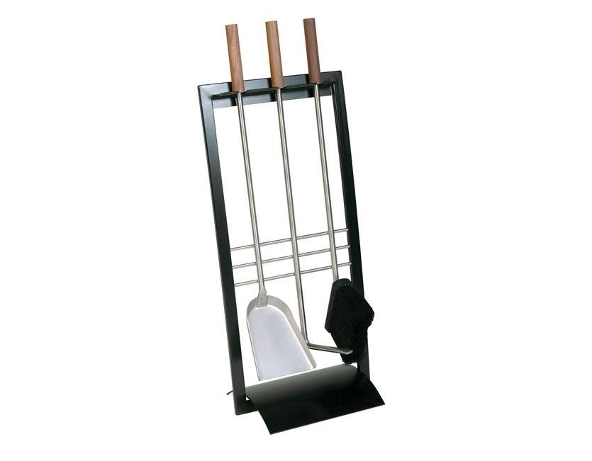 modernes kaminbesteck schwarz 907 kp. Black Bedroom Furniture Sets. Home Design Ideas