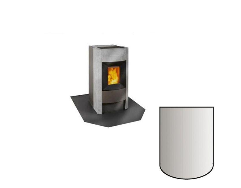 bodenplatte f r kaminofen segmentbogen kp. Black Bedroom Furniture Sets. Home Design Ideas