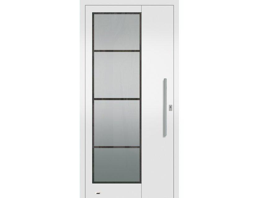 Köster Haustür Element Aluminium Farbauswahl Modell 5508