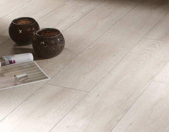 Ziro Vinylan plus Hydro Esche weiß Designvinyl Feuchtraumboden mit Klick