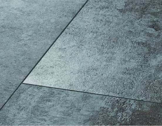 Ziro Vinylan plus Hydro Silver Metallic Designvinyl Feuchtraumboden mit Klick