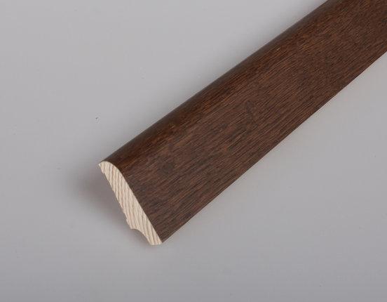 Sockelleiste Eiche Darkbrown lackiert Länge: 2.70 m