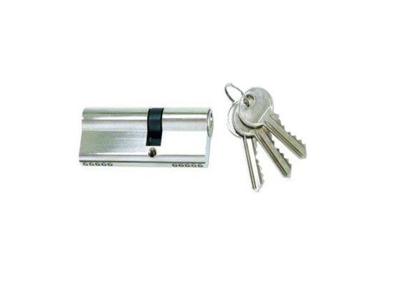 Haustürzylinder mit 3 Schlüsseln 40/40 mm