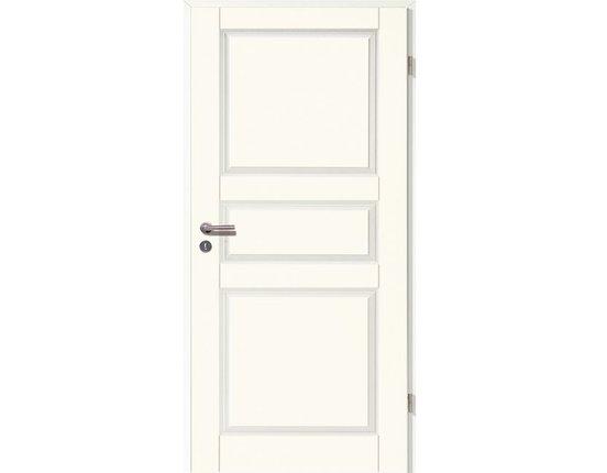 WESTAG Zimmertür + Zarge weißlack Provence 4003 Eckkante VOLLSPAN Zarge gerundet