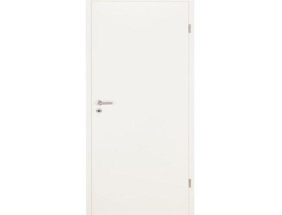WESTAG Wohnungstür mit Zarge CPL weiss A223 Vollspan KKL III 32db Bodendichtung