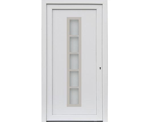 kuporta Mod. Merida Haus-/Nebeneingangstür Kunststoff weiss verschiedene Maße
