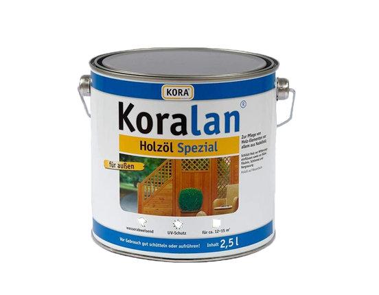 Koralan Holzöl Spezial Lärche 2.5 L für 12 - 15 m²