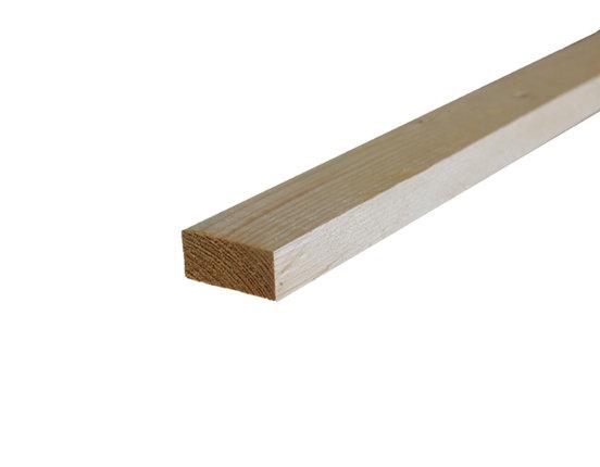 Fichte / Tanne Latten roh getrocknet 24 x 48 mm verschiedene Längen wählbar