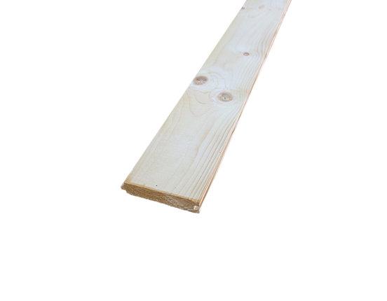 Nordische Fichte Rauhspund mit Nut und Feder 23.5 x 121 mm verschiedene Längen