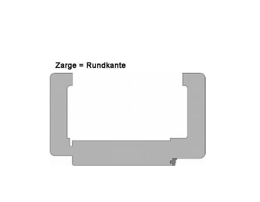 Zimmertür weißlack  Weißlack Zimmertür inkl. Drücker Vollspan - KP-Holzshop.de