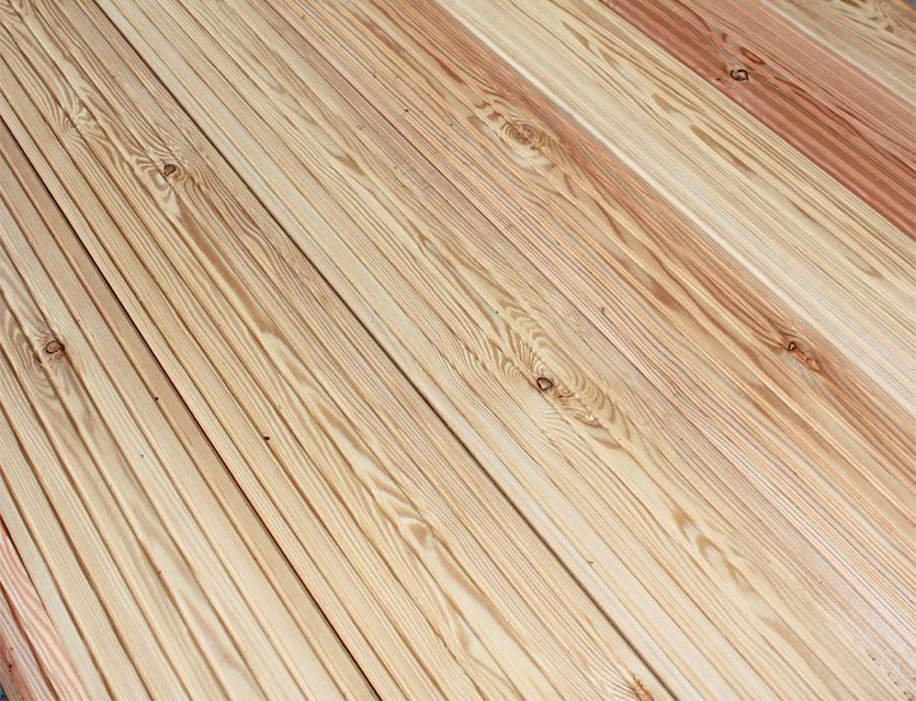 Gut bekannt Sibirische Lärche Terrassendielen 27 x 145 mm - K+P Holz TV68