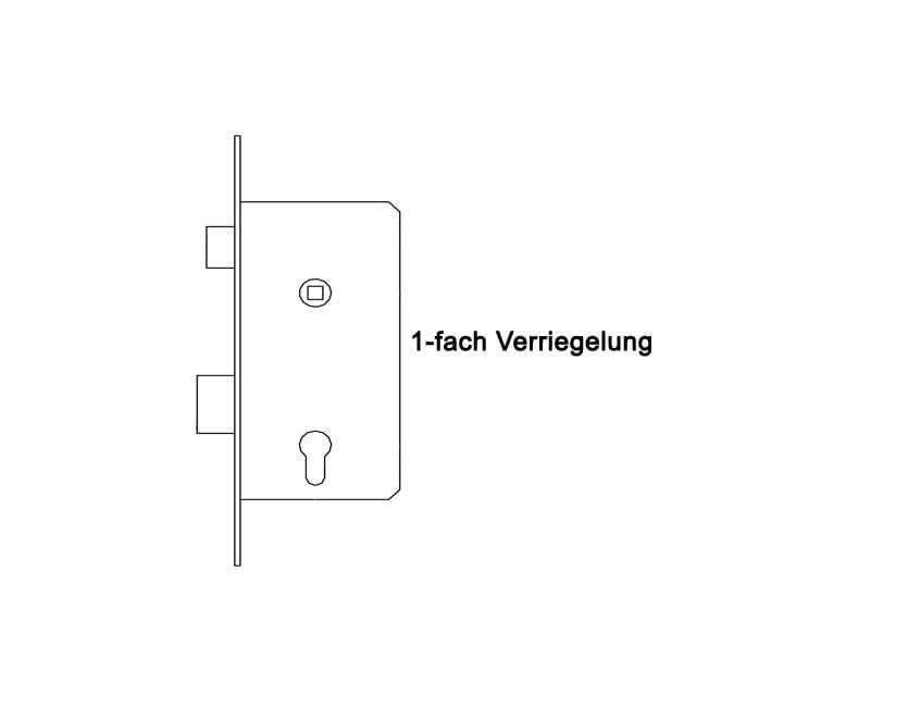 Innovativ Kellertür Nebeneingangstür Element Kunststoff Modell Homberg weiss  XF47