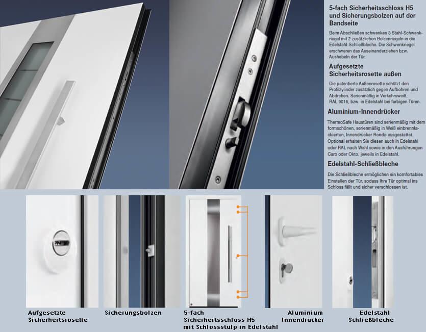 HÖRMANN Haustür Aluminium Motiv 185 - KP-Holzshop.de