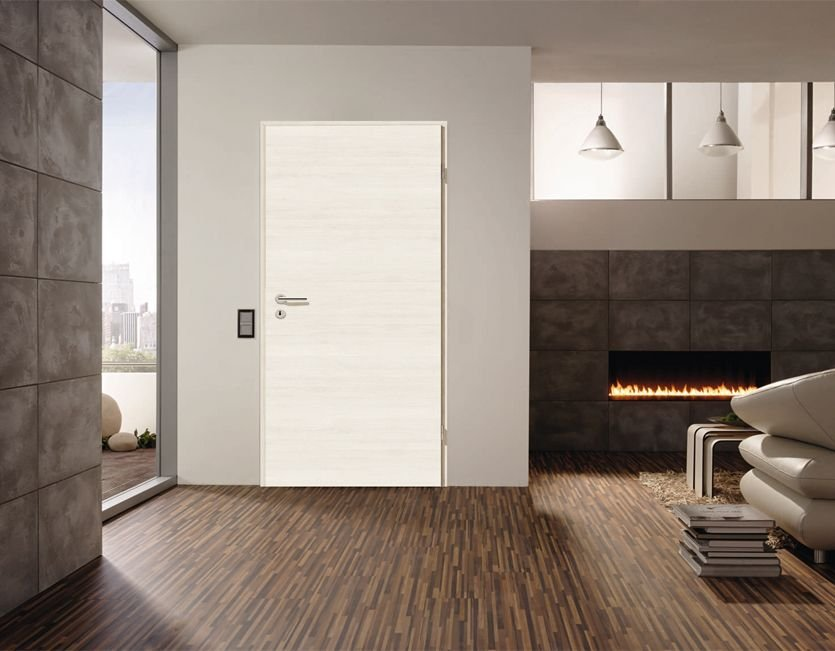 zimmert r element cpl pinie weiss cross r hrenspanstreifen. Black Bedroom Furniture Sets. Home Design Ideas