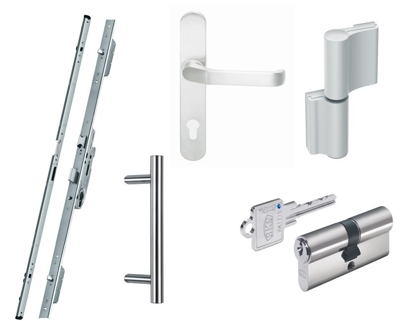 aluminium haust r online g nstig kaufen kp. Black Bedroom Furniture Sets. Home Design Ideas