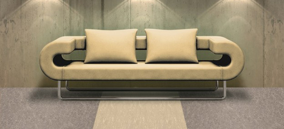 Dekorativer Linoleum Boden