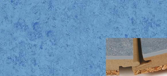 Linoleum Boden zum Klicken